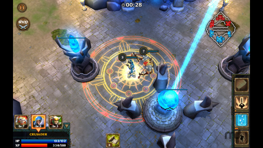 Legendary Heroes for Mac - review, screenshots