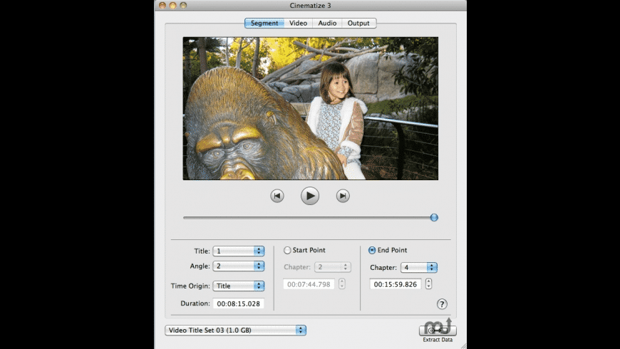Cinematize for Mac - review, screenshots