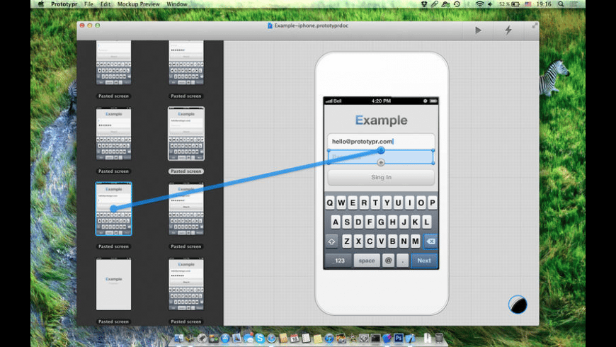 Prototypr for Mac - review, screenshots