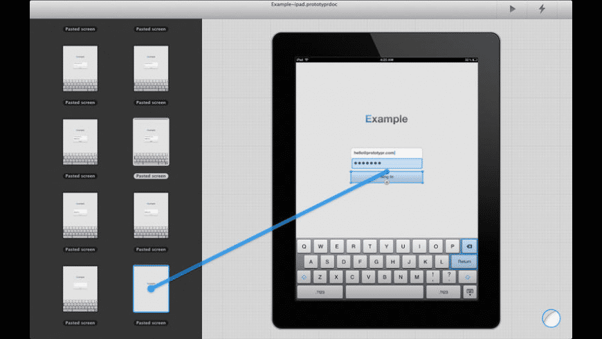 Prototypr for Mac - review, screenshots