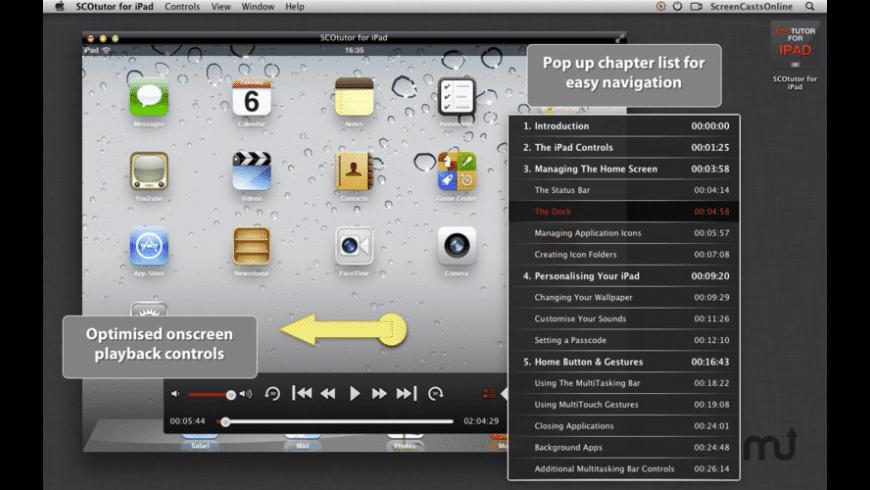 SCOtutor for iPad for Mac - review, screenshots
