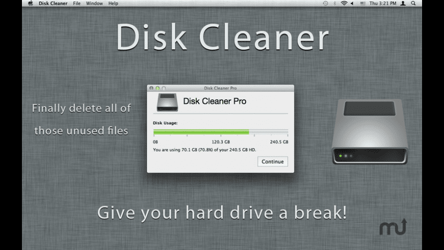 Disk Cleaner Pro for Mac - review, screenshots