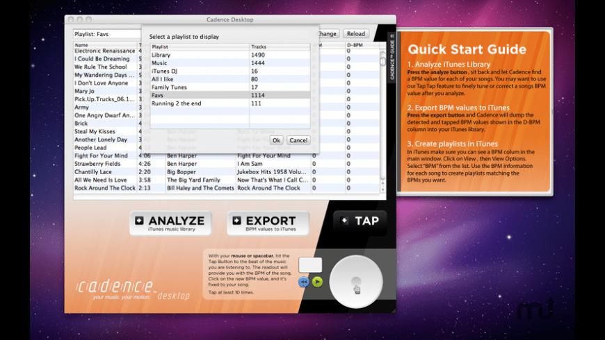 Cadence Desktop Pro for Mac - review, screenshots