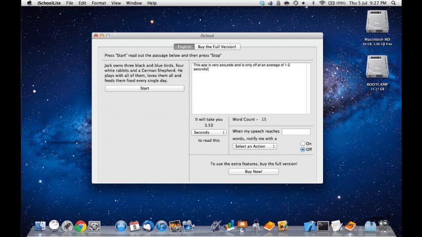 iSchool Lite for Mac - review, screenshots