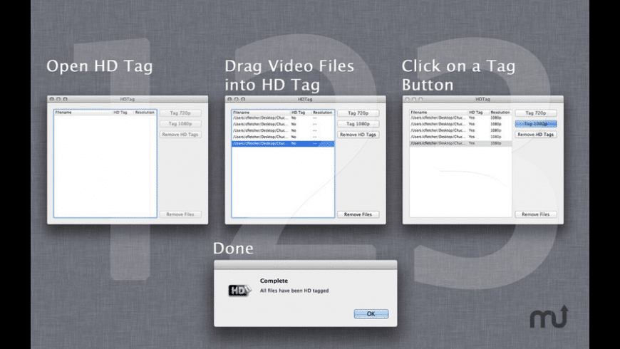 HD Tag for Mac - review, screenshots