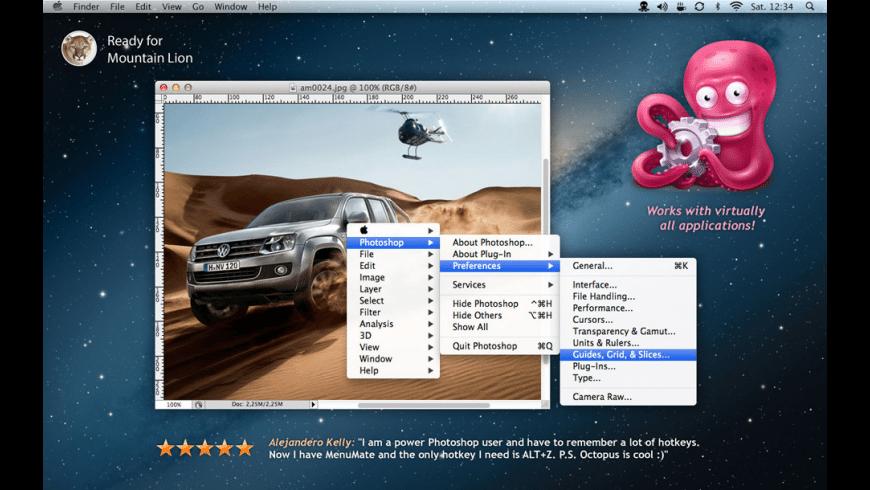 MenuMate for Mac - review, screenshots