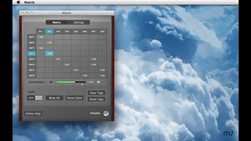 Matrik for Mac - review, screenshots