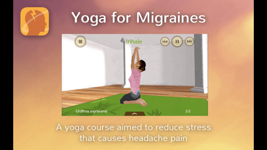 Yoga for Migraines for Mac - review, screenshots