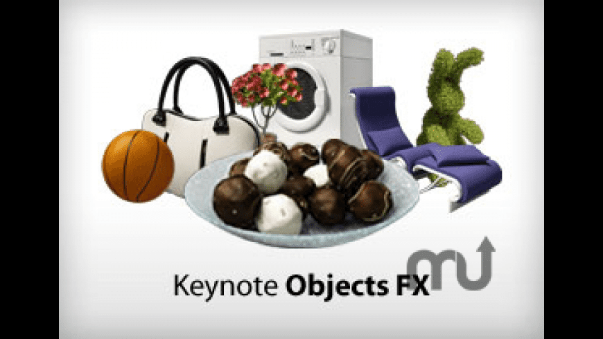 Keynote Objects FX for Mac - review, screenshots