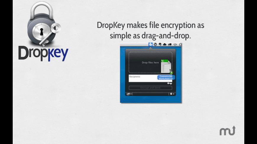 DropKey for Mac - review, screenshots