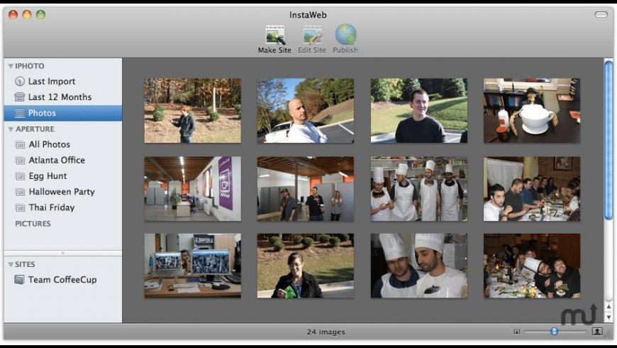 InstaWeb for Mac - review, screenshots