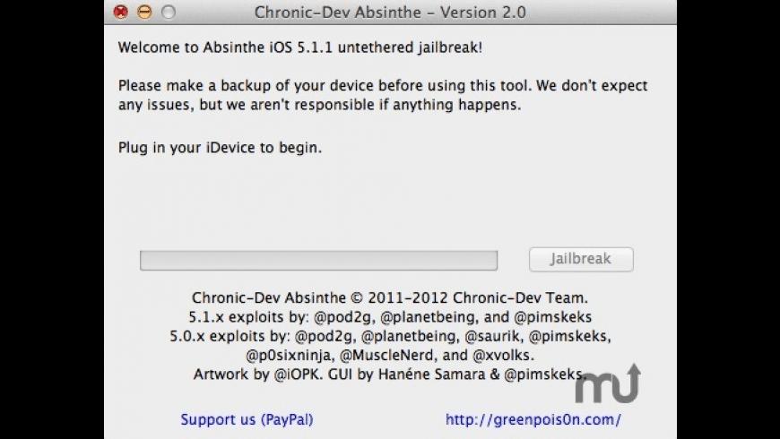 Absinthe for Mac - review, screenshots