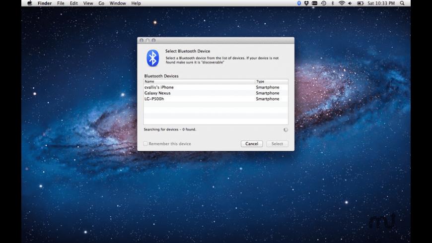 Bluetooth Screen Lock for Mac - review, screenshots