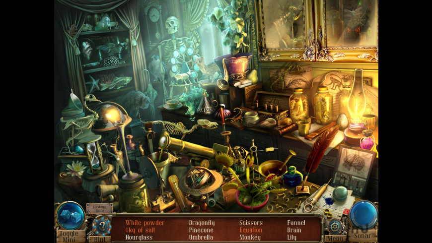 Time Mysteries: The Ancient Spectres CE for Mac - review, screenshots
