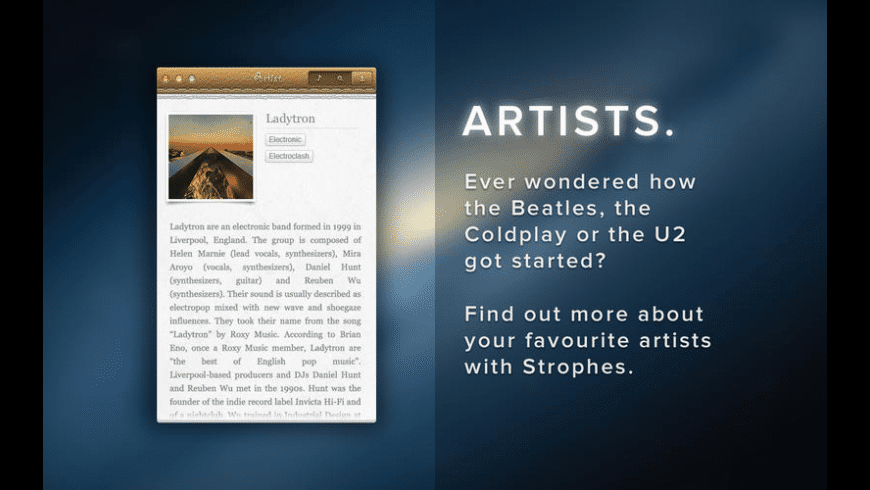Strophes for Mac - review, screenshots