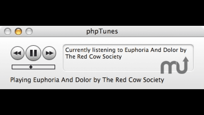 phpTunes for Mac - review, screenshots