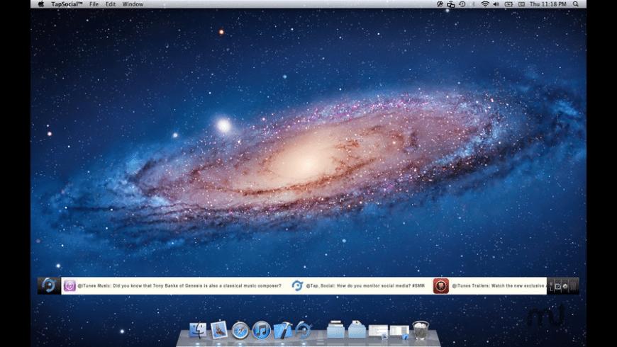 TapSocial for Mac - review, screenshots