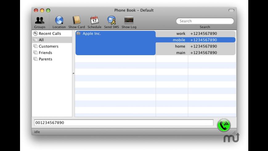 ABDialer for Mac - review, screenshots
