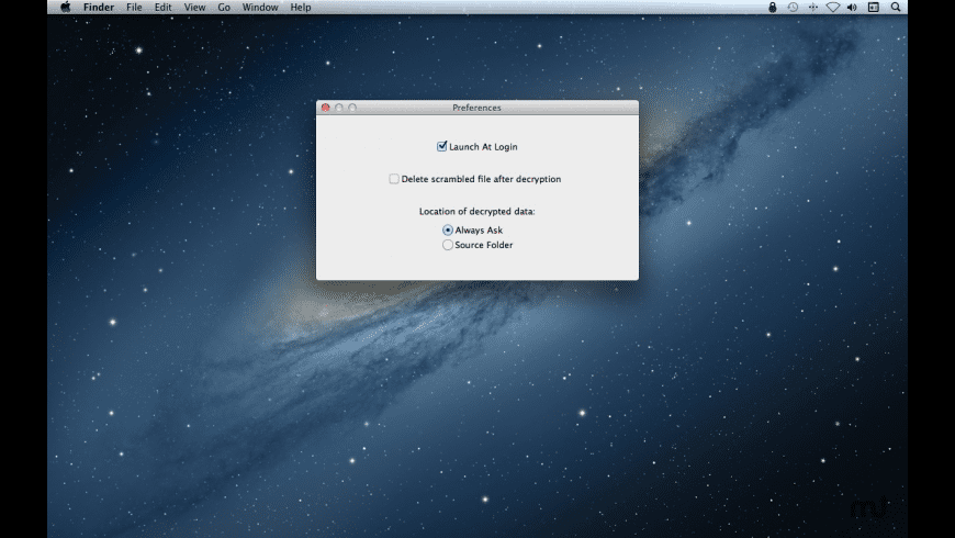 Descrambler for Mac - review, screenshots