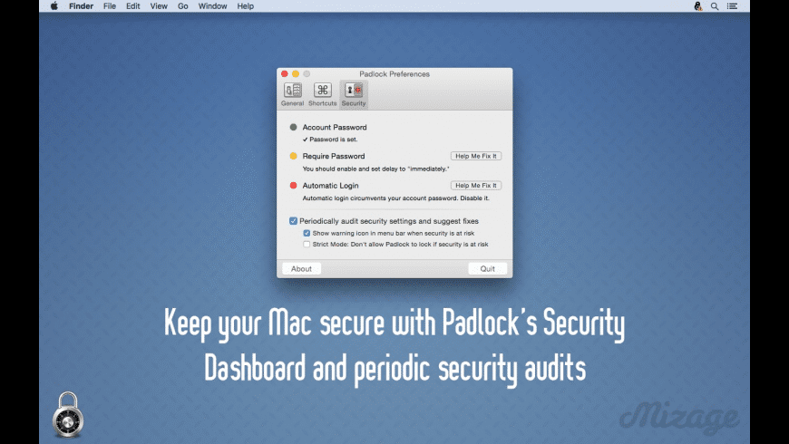 Padlock for Mac - review, screenshots