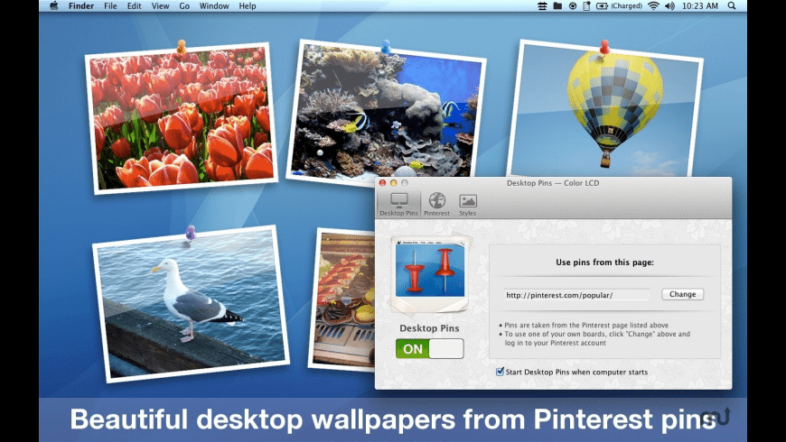 Desktop Pins for Mac - review, screenshots