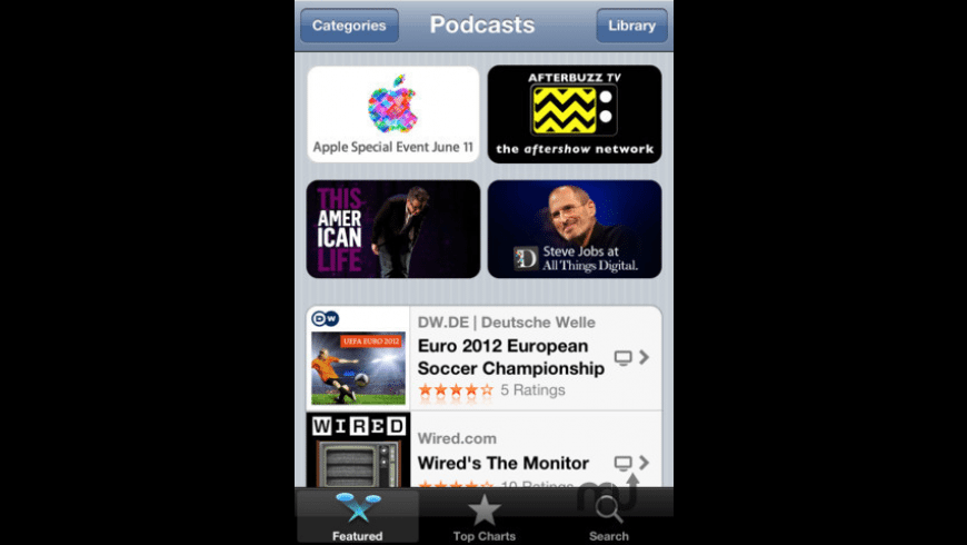 Podcasts for Mac - review, screenshots