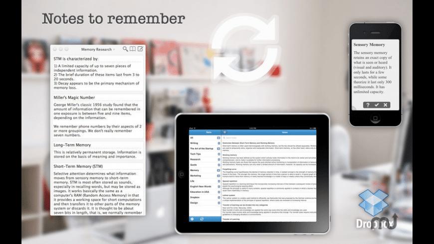 Memonote for Mac - review, screenshots