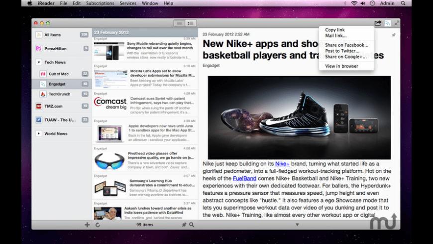 iReader for Mac - review, screenshots