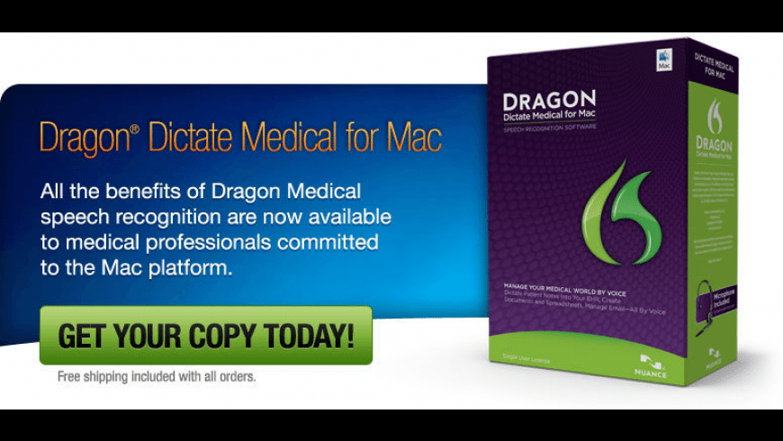 Dragon Dictate Medical for Mac - review, screenshots