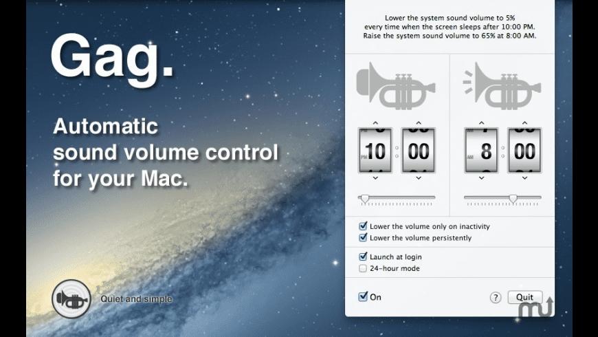 Gag for Mac - review, screenshots