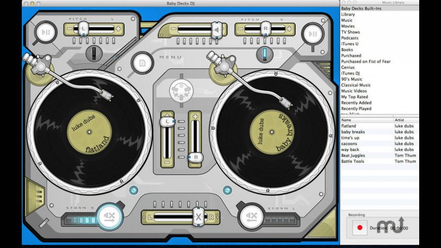 Baby Decks DJ for Mac - review, screenshots