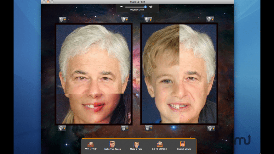 Make a Face for Mac - review, screenshots