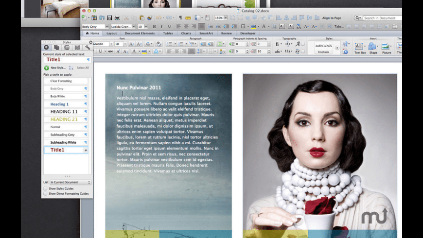 Inspiration Set for Word for Mac - review, screenshots