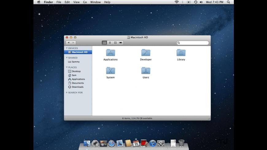AQUADock Mountain Lion for Mac - review, screenshots