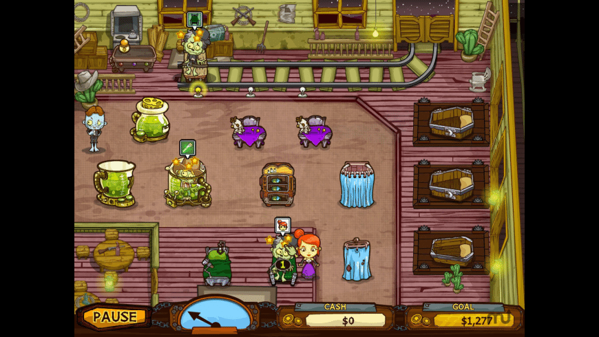 Grave Mania: Undead Fever for Mac - review, screenshots