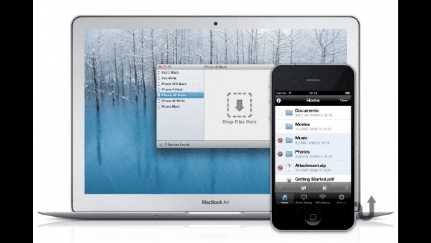 File Storage for Mac - review, screenshots