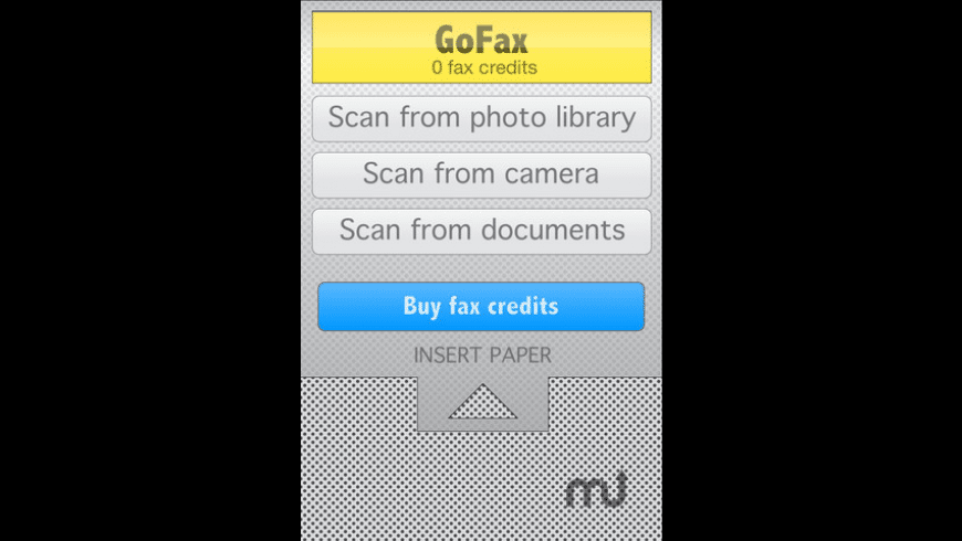 GoFax for Mac - review, screenshots