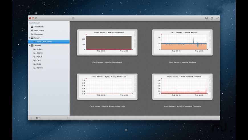 iCacti for Mac - review, screenshots