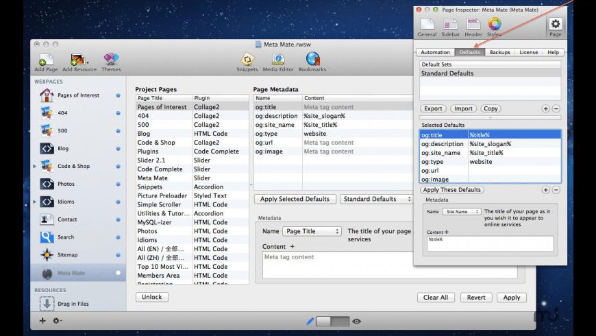 MetaMate for Mac - review, screenshots