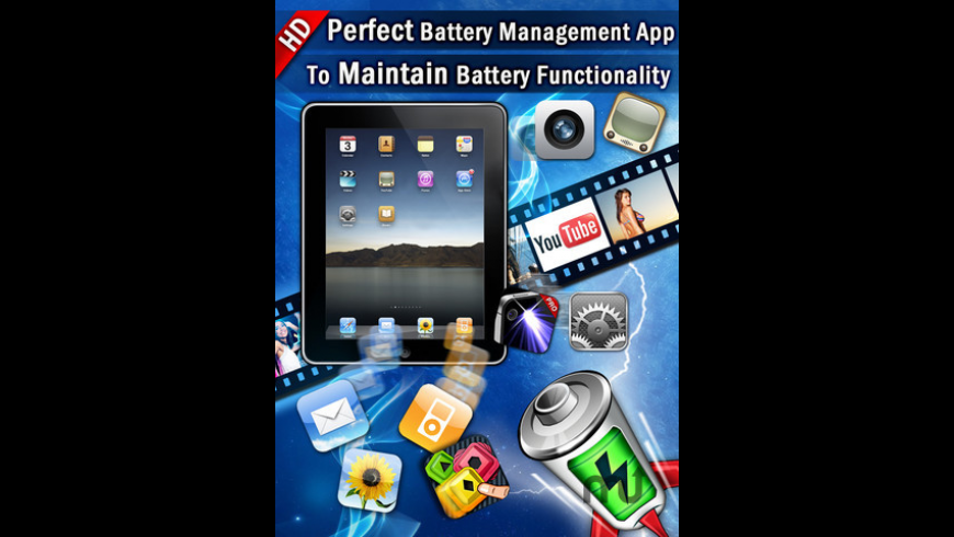 Best Battery Manager HD for Mac - review, screenshots