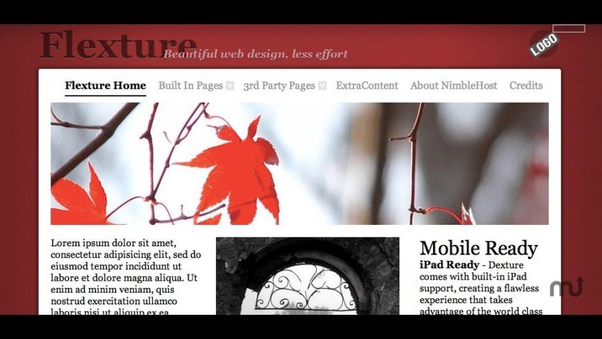Flexture for Mac - review, screenshots