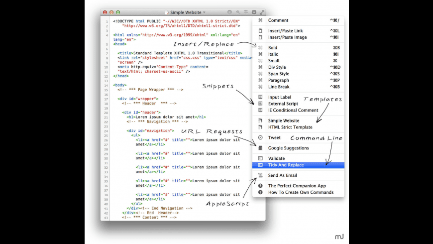 SimpleEdit for Mac - review, screenshots