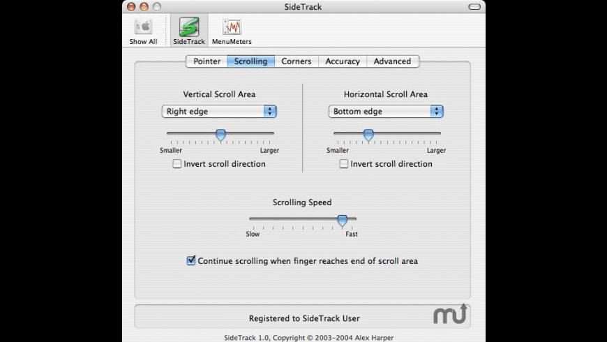 SideTrack for Mac - review, screenshots