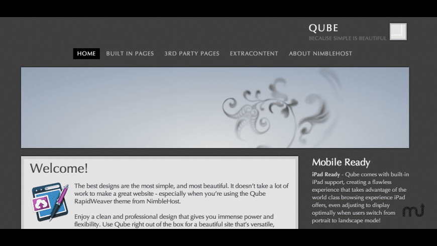 Qube for Mac - review, screenshots