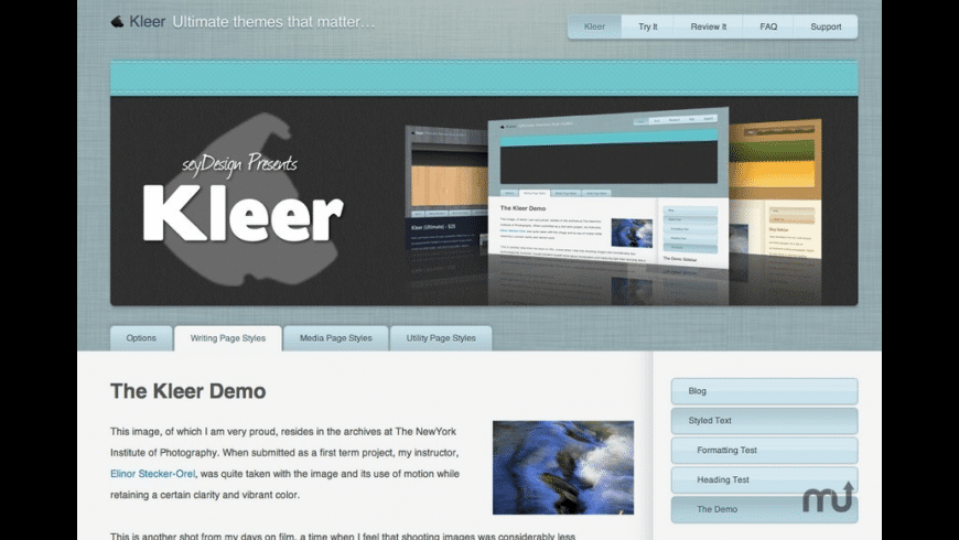 Kleer for Mac - review, screenshots