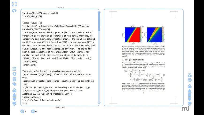 cyWriter for Mac - review, screenshots