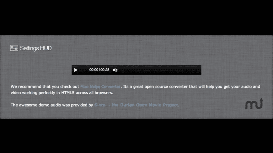 HTML5 Audio Stack for Mac - review, screenshots