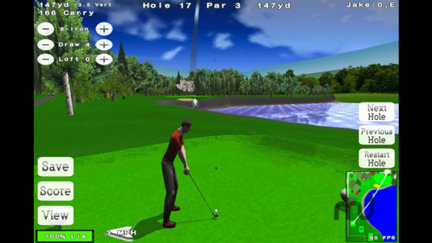 Nova Golf Lite for Mac - review, screenshots
