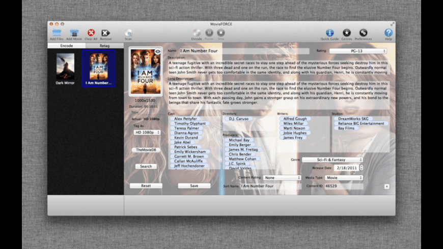 MovieFORGE for Mac - review, screenshots