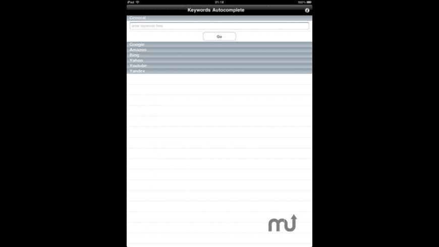 SEOggestor for Mac - review, screenshots